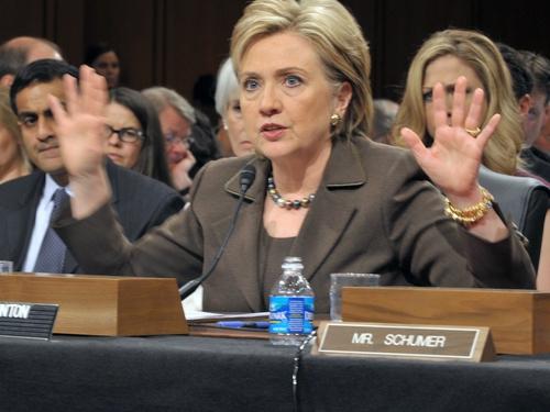 Hillary Clinton - At a US Senate confirmation hearing