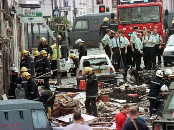 Omagh - Real IRA bombed town in 1998