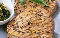 Tuna Steak with Fennel in Milk - Dr Eva Orsmond suggests a healthy tuna lunch.