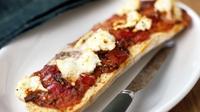 Chorizo & Mozzarella Ciabatta - An easy and delicious snack to prepare.