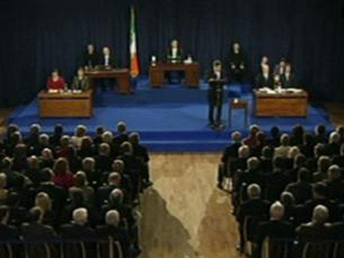 Mansion House - Joint Oireachtas session