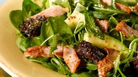 Bord Bia's Bacon and Black Pudding Salad - Try this lovely light salad which is packed full of flavour.