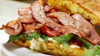 Bord Bia's Eggy Bread BLT - Try the ultimate bacon sandwich.