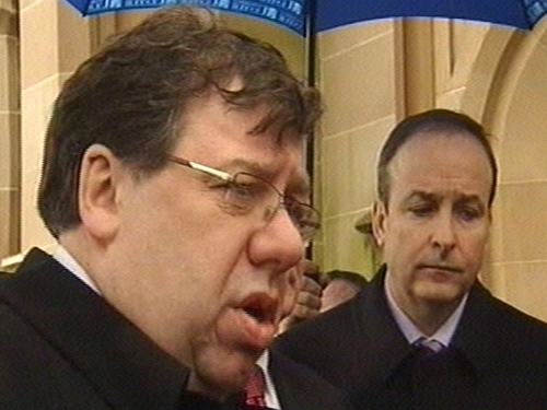 Brian Cowen - Tax changes will be needed in medium term