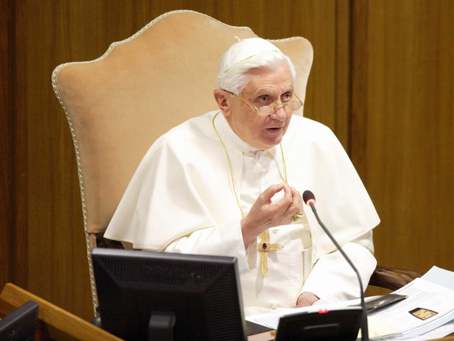 Pope Benedict - Meeting on abuse report