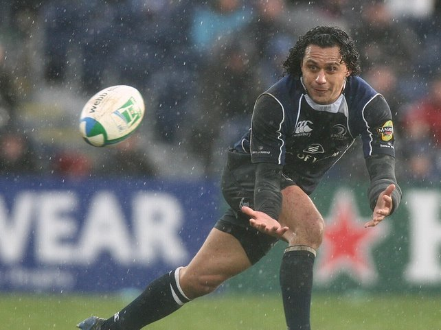 Isa Nacewa is expected a tough task against the Ospreys