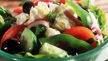 Warm Broad Bean Salad with Dill and Feta