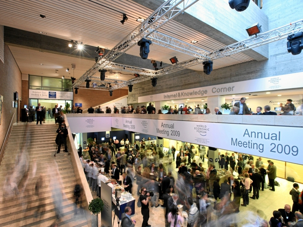 Davos - 40th annual meeting starts today