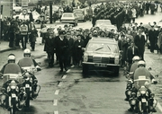The funeral of Garda Clerkin