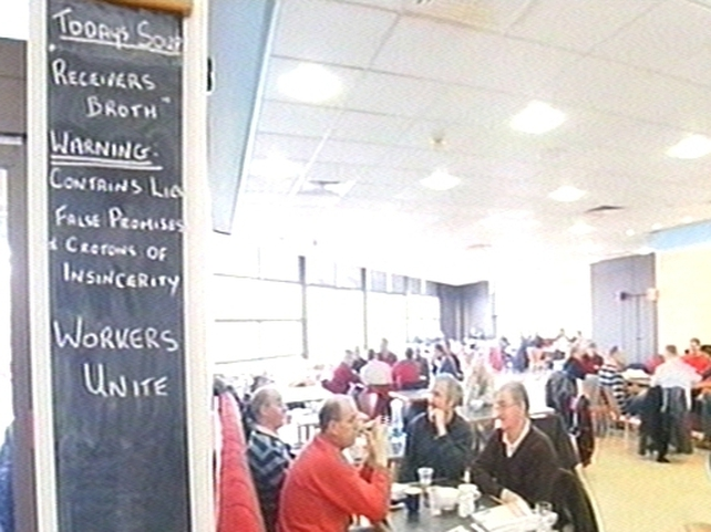 Waterford - Occupation of visitor centre ends