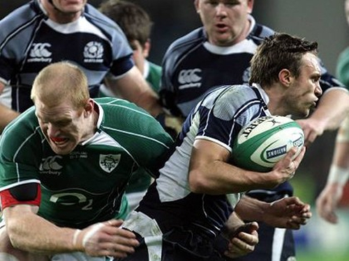 Mike Blair - key to Scotland's attacking close to the ruck