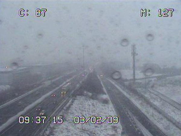 M50 - South of the Finglas roundabout this morning
