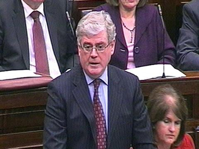Eamon Gilmore - Plan added to uncertainty