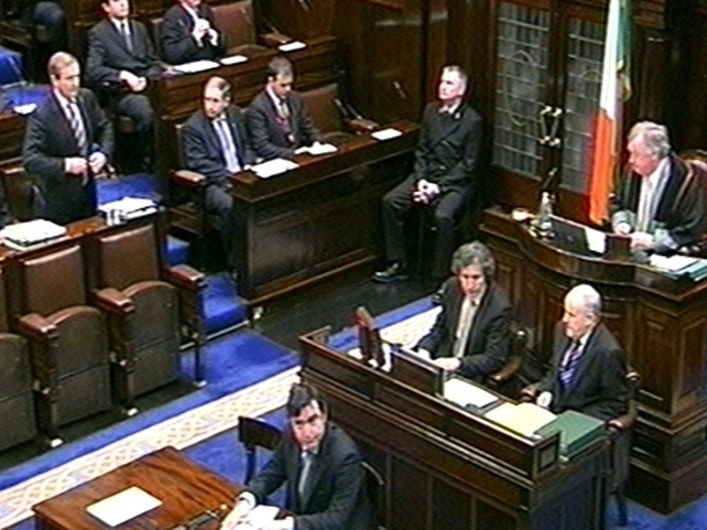 Dáil - Legislation to be introduced next month