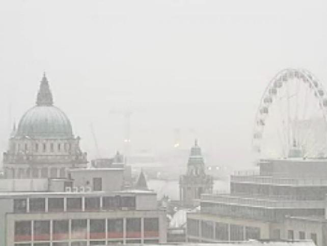 Belfast - Heavy snow