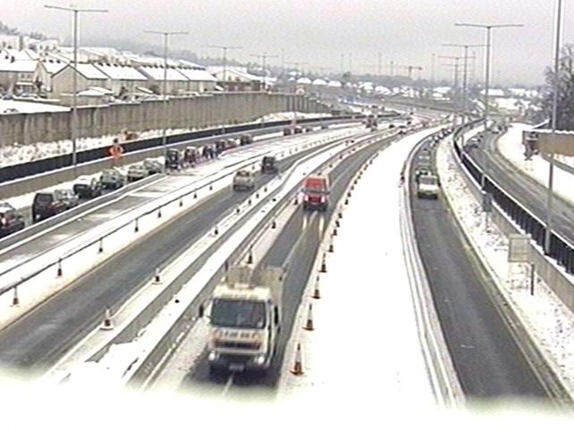 Dublin - Hazardous driving conditions