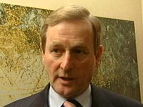 Enda Kenny - New plan would create 100,000 new jobs