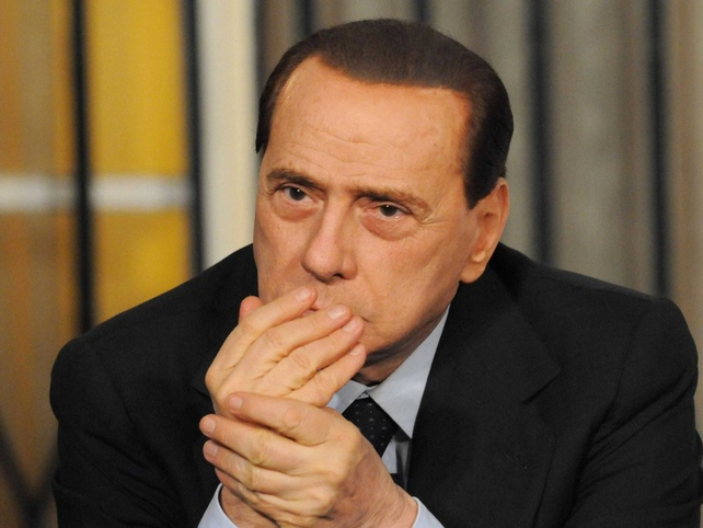Silvio Berlusconi - Comment broadcast on television