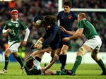 Sebastian Chabal in action against Ireland last year