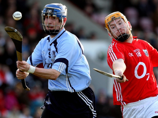 Alan McCrabbe grabbed 1-09 for Dublin as they easily beat Cork at Páirc Uí Chaoimh
