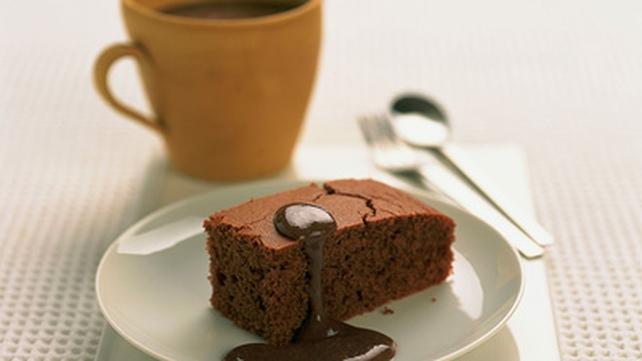 Easiest Chocolate Coconut Slice