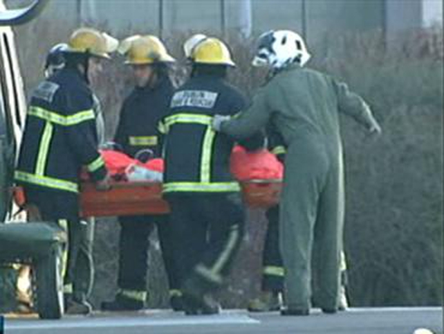 Rescue - Men brought to Tallaght Hospital