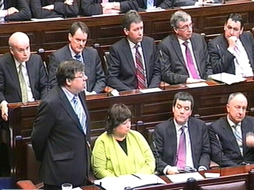 Fianna Fáil - Satisfaction with the Government has dropped