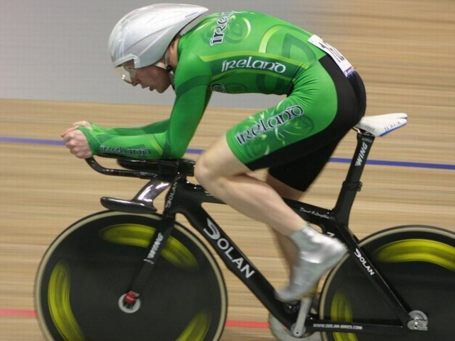 David O'Loughlin finished 12th in the individual pursuit qualifiers in Copenhagen