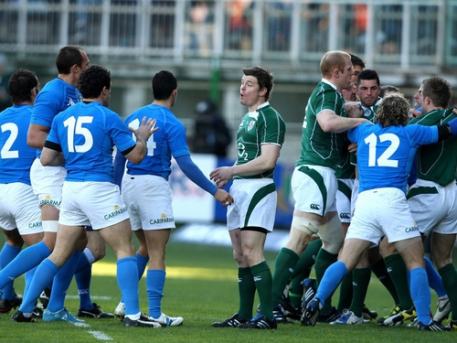 Italy - more rough stuff this year after 2009's bruising encounter?