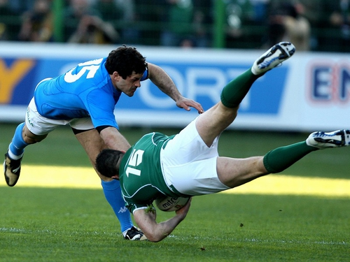 Andrea Masi's tackle - 'The card was correct, the colour wrong'