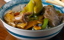 Beef Fillet Stir Fry in Black Bean Sauce