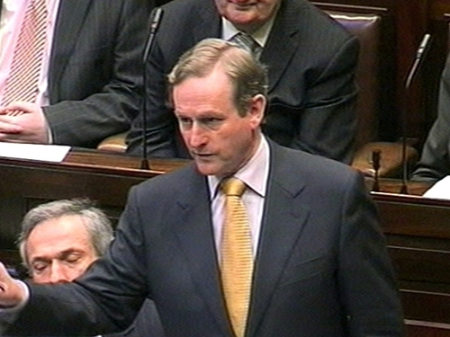Enda Kenny - Government 'too timid'