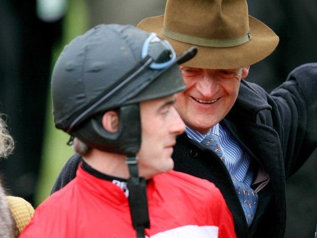 Ruby Walsh and Willie Mullins teamed up for the easiest winner of the opening day of the Cheltenham Festival