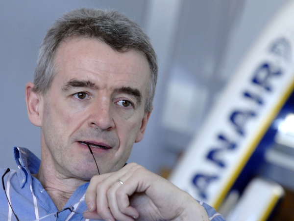 Michael O'Leary - Ryanair CEO expects service to be popular