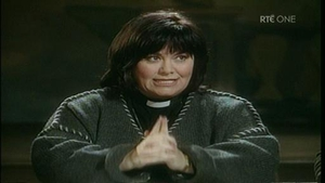Dawn French as Vicar Geraldine Grainger