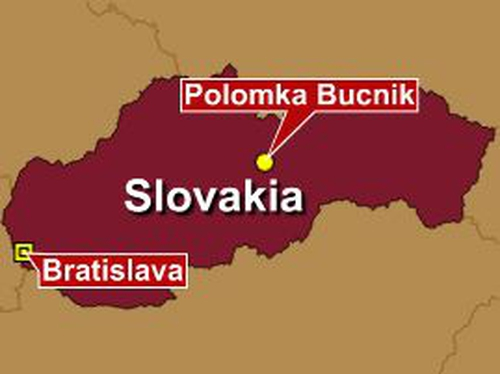 Slovakia - Coach and train collide