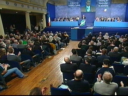 Sinn Féin Ard Fheis - Party president addresses delegates