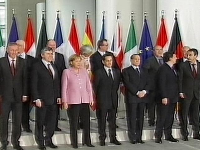 Germany - A number of European leaders meeting