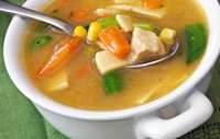 Turkey Fillet & Mixed Root Vegetable Stew in Sage - Why not try this delicious low-calorie meal?
