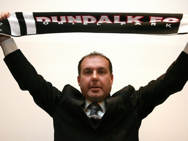 Sean Connor only served for one season at Dundalk