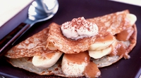 American Style Pancakes - We've got Banoffi, Blueberry and Cinnamon and Apple variations!