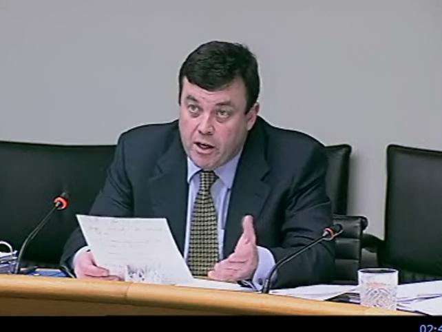 Brian Lenihan - Indicated tax increases