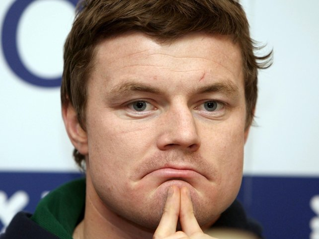 Brian O'Driscoll will this week be pondering winning Ireland's second Grand Slam