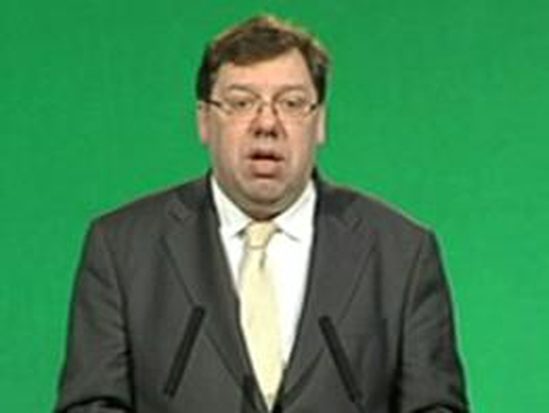 Brian Cowen - Proposes revamp of donation rules