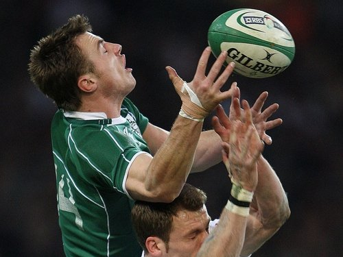Tommy Bowe - 'Both Bow and Fitzgerald have speed allied to an added dimension of physicality in defence that mark them apart.'