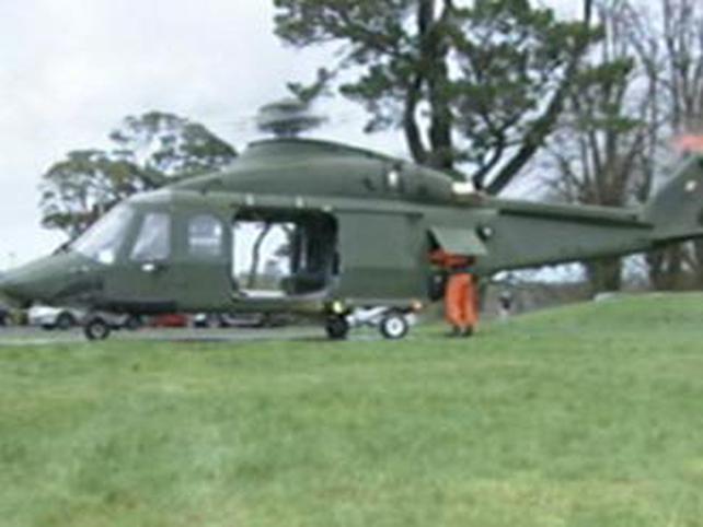 Killarney - Helicopter lost door