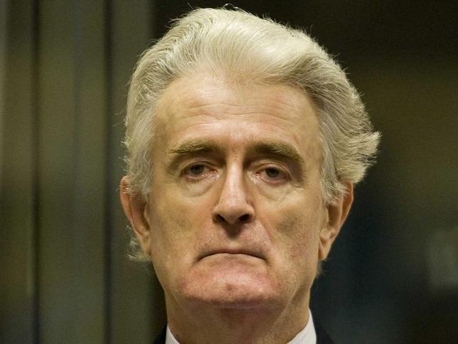 Radovan Karadzic - Denies chrges of war crimes