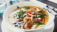 Thai Curry and Noodle Soup To Go - Richie Wilson's tasty nourishing lunch