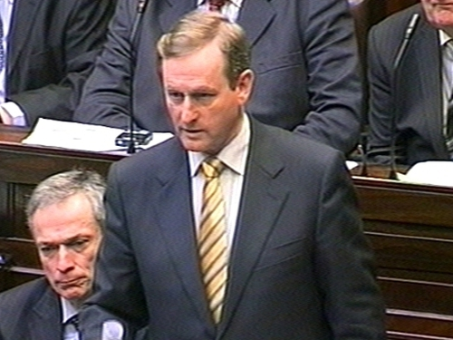 Enda Kenny - Wants 'temporary solidarity tax' on high incomes