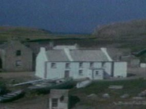 Tory Island - House 'disappeared' in 1993